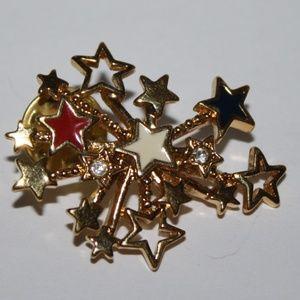 Vintage Avon Firework 4th of July brooch